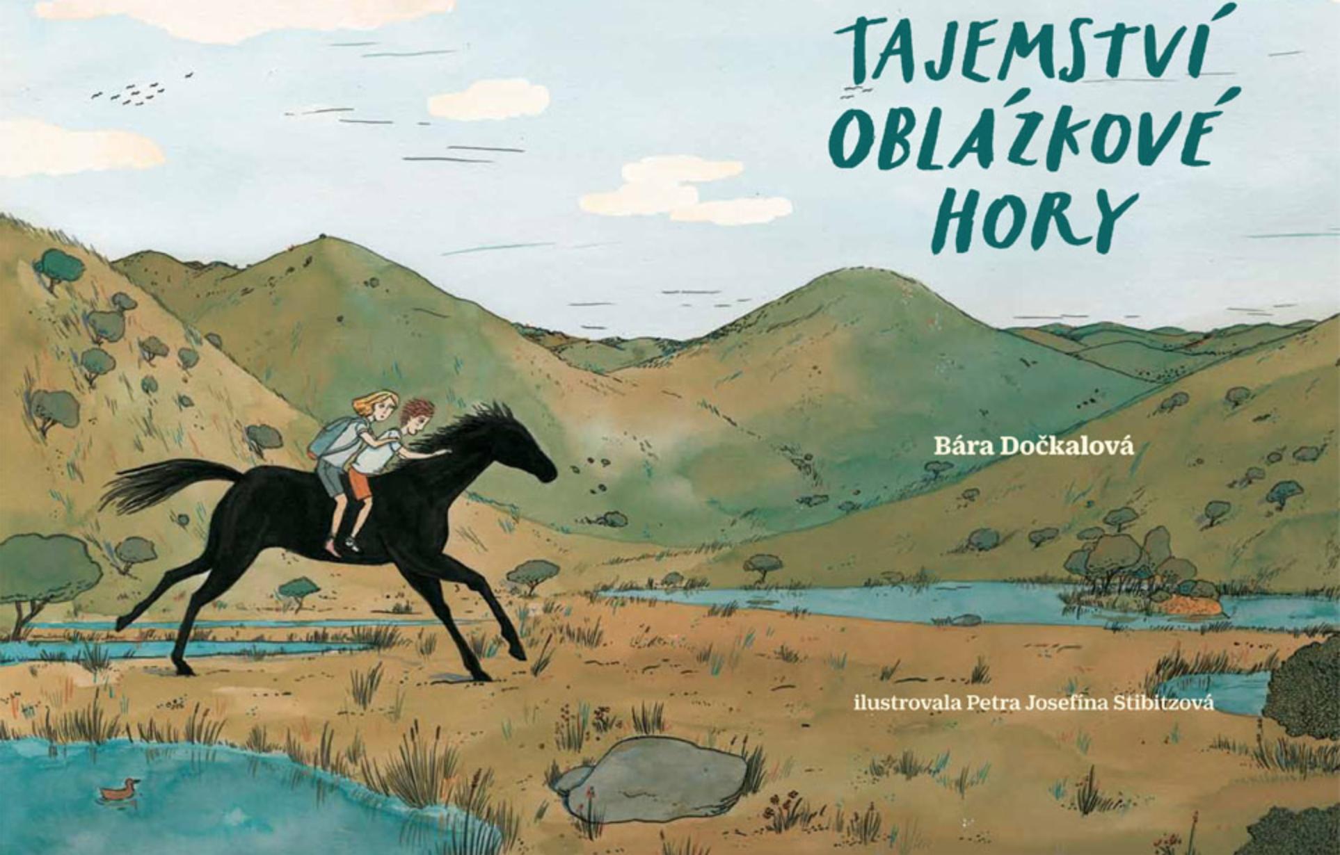 Tajemství oblázkové hory by Barbora Dočkalová shortlisted for the 2019 Magnesia Litera Award